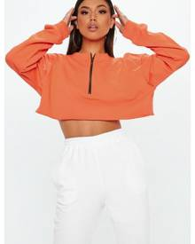 Missguided BOXY CROP SWEAT