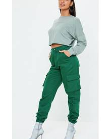 Missguided Plain Cargo Trousers