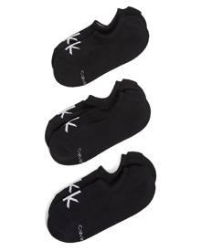 Calvin Klein Underwear 3 Pack Logo Liner Socks