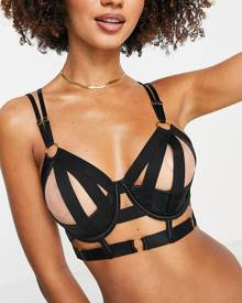 River Island floral print wrap midi dress in red