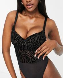 Cotton:On Plus Cotton On Curve high waisted skinny jeans in dark wash-Blue