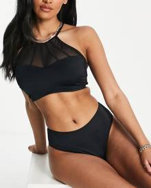 COLLUSION graphic print oversized grey marl t-shirt