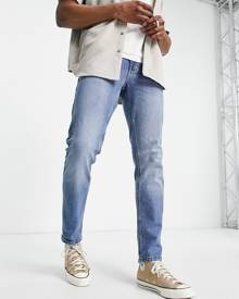 Missguided bucket hat in blue daisy print