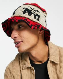 Noisy May Petite cropped shirt co-ord in multi abstract print
