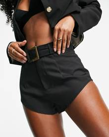 ASYOU oversized t-shirt with model graphic print-Multi