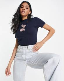 Reclaimed Vintage Inspired oversized t-shirt with yosemite back print in washed yellow