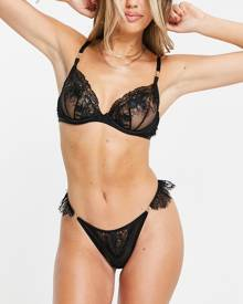New Love Club oversized t-shirt with daisy graphic back print in black