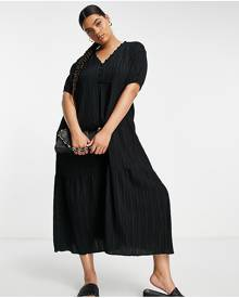 ASOS DESIGN oversized t-shirt in brown towelling with USA embroidery