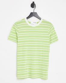 Selected Homme relaxed fit shirt with revere collar in mosaic print Exclusive at ASOS-Multi