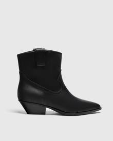 Liquor N Poker varsity bomber jacket in black with chest and back script embroidery