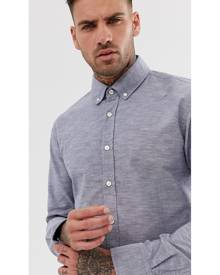 BOSS Epreppy Slim Fit Shirt in Blue - Blue