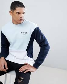 Nicce London Nicce retro sweatshirt - Navy