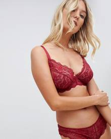 ASOS DESIGN Fuller Bust Roxy lace underwire bra - Red