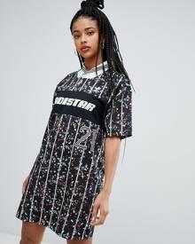 ef31ed49c47 adidas Originals t-Shirt dress in floral print - Multi