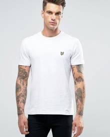 Lyle & Scott logo t-shirt in white - White
