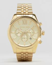 Michael Kors MK8281 Lexington Gold Chronograph Watch - Gold