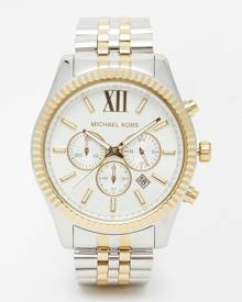 Michael Kors MK8344 Lexington Watch - Silver