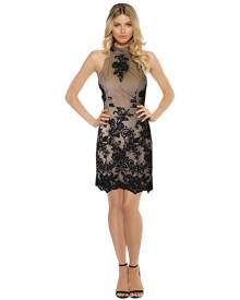 LUOM.O - Caprice Lace Halter Dress