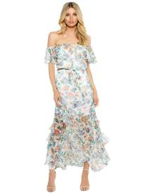 Alice McCall - Oh Oh Oh Maxi Dress - Ivory Garden