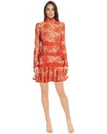 Nicholas The Label Nicholas - Rosie Lace Dress - Red