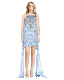 Camilla - Bosphorous Sheer Overlay Dress