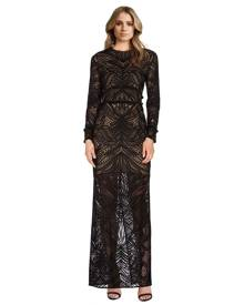 Alexis - Kassidy Fringe Lace Dress