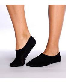 Boody Bamboo Eco Wear BOODY Bamboo Women's Socks - Hidden - Black Size 3-9