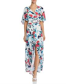 Adelyn Rae Somers Floral Maxi Dress