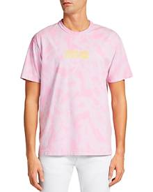Versace Jeans Couture Tie Dye Logo Tee