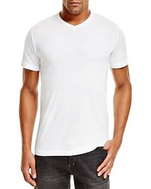 Velvet By Graham & Spencer Velvet Samsen V-Neck Tee