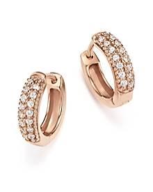 Bloomingdale's Diamond Mini Hoop Earrings in 14K Rose Gold, .15 ct. t.w. - 100% Exclusive