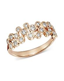 Bloomingdale's Diamond Bezel Motif Ring in 14K Rose Gold, 0.50 ct. t.w. - 100% Exclusive