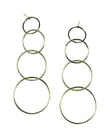 Jules Smith Quartro Hoop Earrings