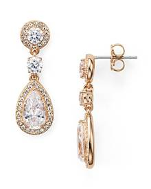 Nadri Pear Shaped Drop Earrings