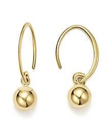 Bloomingdale's 14K Yellow Gold Ball Drop Earrings - 100% Exclusive