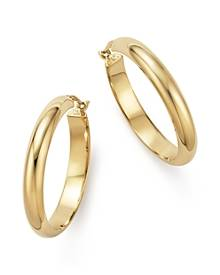 Bloomingdale's 14K Yellow Gold Large Hoop Earrings - 100% Exclusive