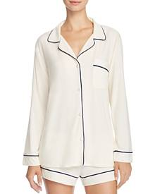 Eberjey Gisele Long Sleeve Short Pajama Set