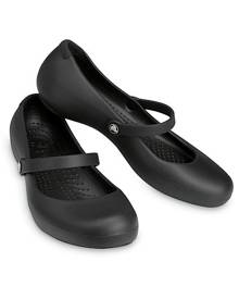 Crocs Alice Work Flat Black