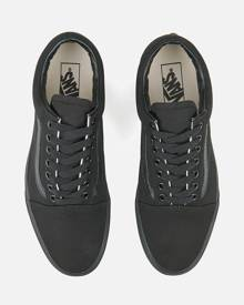 Vans Old Skool Trainers - Black - UK 3 - Black