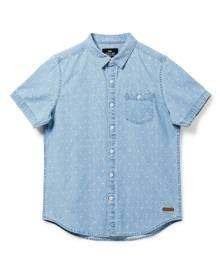 Mossimo 8 - 16 Years - Boys Byron ss denim shirt - LIGHT DENIM - 8