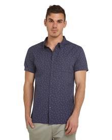 Mossimo Shirts - Carabeen SS Shirt - NAVY - XS