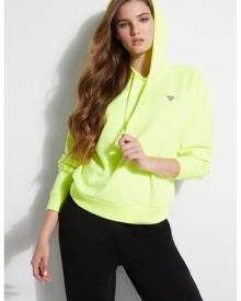 GUESS Neon Logo Hoodie, colour - Caution Yellow