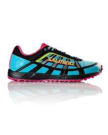 Salming Trail 2 - Womens Trail Running Shoes - Turquoise/Black/Pink