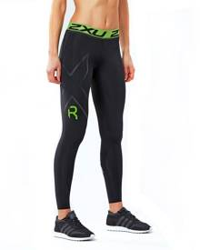 2XU Refresh Recovery Womens Compression Tights - Black/Nero