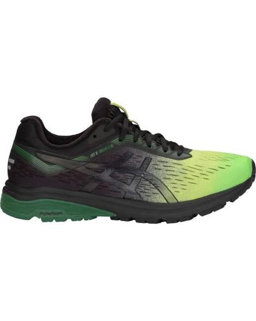 Asics GT-1000 7 Solar Shower - Mens Running Shoes - Neon Lime/Black