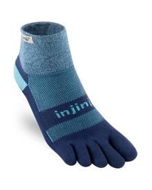Injinji Trail 2.0 Womens Midweight Mini-crew Socks - Twilight