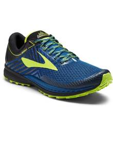 Brooks Mazama 2 Mens Trail Running Shoes - Blue/Black/Nightlife
