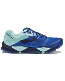 Brooks Cascadia 12 Womens Trail Running Shoes - Navy/Blue/Mint