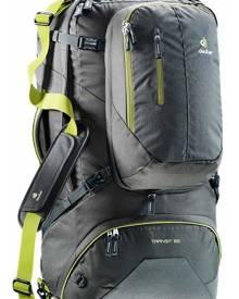 Deuter Transit 65L Travel Pack - Anthracite / Moss