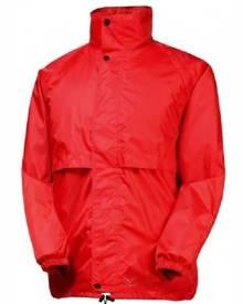 Rainbird Stowaway Waterproof Packable Rain Jacket - Red - L
